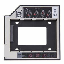 9.5mm SATA 2nd HDD SSD Universal Hard Drive Caddy for CD / DVD-ROM Optical US DP
