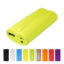 External 5000Mah USB Battery Charger Power Portable Bank For Iphone HTC