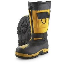 Itasca POWDER KING Mens Yellow Black Waterproof 400g Insulated Warm Winter Boots