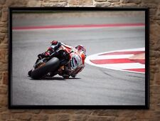 Marc Marquez Motorbike Racing High-Quality Poster Print Wall Art A1, A2, A3+