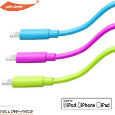 1M USB 8 pin Charger Cable iPhone 5 6 iPad Air Mini iPod Touch Apple Certified