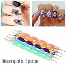 Pro Nail Art Tools Crystal Powder Acrylic Liquid Dappen Dish Kit Set DP