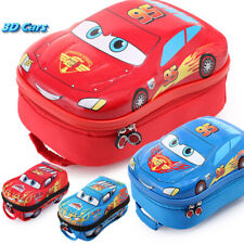 3D Lightning McQueen 95 Cars Gift Disney Pixar School Bag Child Backpack Unisex