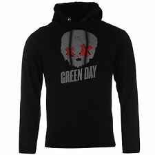 Official Band Merch Mens T Green Day Hoodie Hoody Hooded Long Sleeve Top