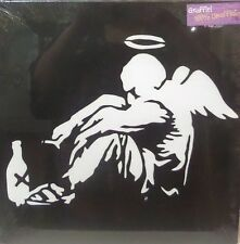 BANKSY GRAFFITI FALLEN ANGEL   CANVAS WALL ART READY TO HANG -