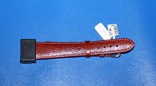Tan Semi Pad Buffalo 20mm  Brown Watch Strap