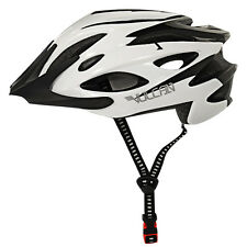 New! Vulcan Premium Black / White Multi Sport Bicycle Helmets SM/MED & MED/LG