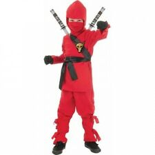 Red Ninja Child Halloween Costume. Delivery is Free