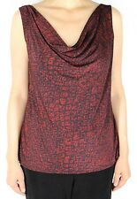 Women's Scoop Cowl Neck Tank Top With Plus Size Slinky For Casual Travel Wear