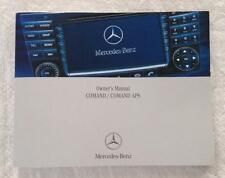 MERCEDES-BENZ COMAND APS SAT NAV OWNERS MANUAL   NEW OLD STOCK 2006 -