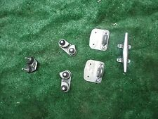 Sailboat Rope Stainless Steel Hardware Tie Downs Lot of 6