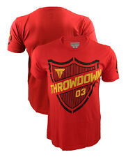 Throwdown Threat Red T-Shirt, UFC, MMA Bjj, Surf, Affliction, American Fighter