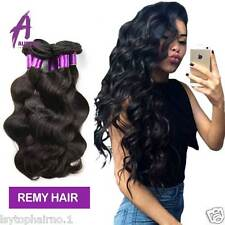 Brazilian Virgin Hair human hair extensions body wave weave weft 3 bundles 300g