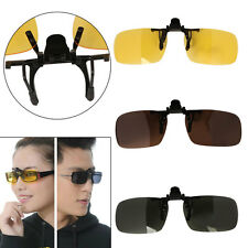 Polarized Day Night Vision Clip-on Lens UV400 Driving Fishing Glasses Sunglasses