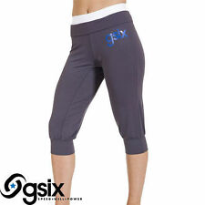 NEW -  Gsix Grey Women Ladies Gymwear Yogi Yoga Pant Size S M L XL