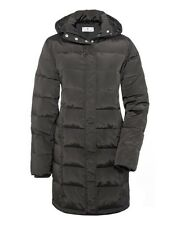 Quilted maternity coat - Bellybutton warm maternity coat - Brown - UK18 or UK20
