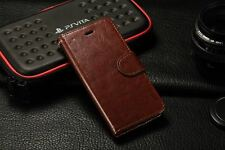 Quality Leather Wallet Card Holder Flip Case Cover Stand For iPhone 6 6s 7s plus