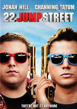 22 Jump Street (DVD, 2014, Includes Digital Copy; UltraViolet) Jonah Hill