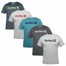 Hurley Skate Men'S T-Shirt O & O Seasonal grey blue red S M L XL Icon Logo Print