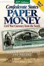 CONFEDERATE STATES PAPER MONEY Civil War Currency Southern Bills  Collector Book