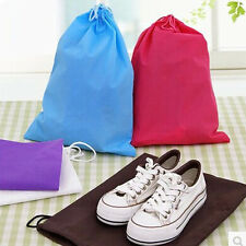 Hot 1PC Laundry Shoe Travel Pouch Portable Tote Drawstring Storage Bag Organizer