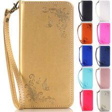 Butterfly Wallet Leather Flip Case Cover For Samsung Galaxy S3/S4/S5/i9190/G800