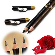 2pcs Lady Waterproof Eyebrow Eye Liner Pencil Pen Eyeliner Makeup Tools Pro Hot