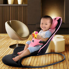 NEW Adjustable Baby Bouncer Soft Breathable Mesh Fabric Baby Balance Chair Seat