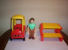 Little Tikes Dollhouse Size Cozy Coupe, Father, or Picnic Table ***You Choose***