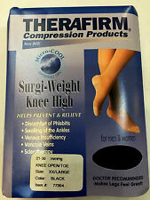Therafirm Compression Surgi-Weight Knee High Unisex OpenToe 21-30mmHg XXL