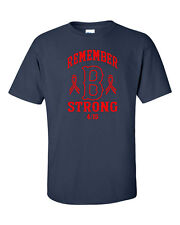 Boston Remember B Strong Marathon tribute running  Men's Tee Shirt 843