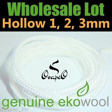 Wholesale LOT GENUINE EKOWOOL Hollow 1mm 100 Meters 328ft Authorized Distributor
