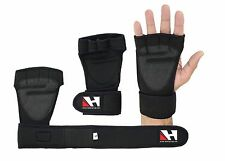 Gym gloves Long Wrist Strap Padded Palm Gym Fitness Weight Lifting gloves HG-570