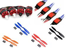 4x 2212 920KV Brushless Motor + 4x 30A SimonK Brushless ESC + 2pair 1045 props