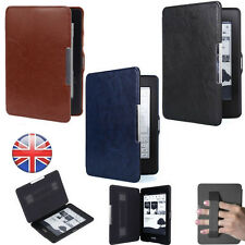 """Slim PU Leather Magnetic Folio Cover Case Shell For 6"""" Amazon Kindle Paperwhite"""