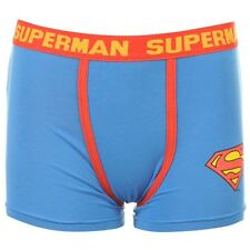 MENS DC COMICS RETRO BLUE SUPERMAN BOXERS BOXER SHORTS TRUNKS PANTS