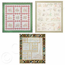 Crabapple Hill Embroidered Quilt Patterns - Choose from 3 Designs - Complete Set