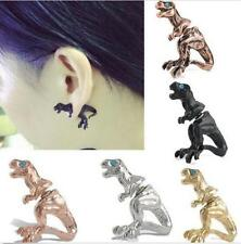 Women Gothic Punk Rock Temptation Dinosaur Dragon Ear Cuff Wrap Clip Earring New