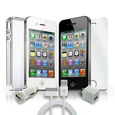 Iphone 4 Verizon Wireless 8GB | 16GB | 32GB Smartphone Black/White, Clean ESN!
