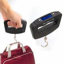 New Pocket 50kg/10g Digital Fishing Hang Electronic Scale Hook Weight Luggage DE