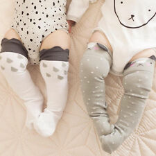 Cute Baby Toddler Boys & Girls Soft Leggings Warmer Leg Warmers Knee Long Socks