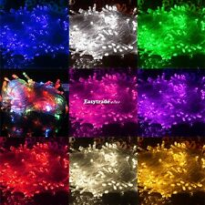 10M 100LED String Fairy Lights Indoor/Outdoor Xmas Christmas Wedding Party ES