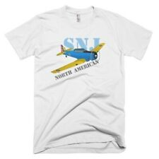 North American T-6 Texan / AT-6 / SNJ Custom Airplane T-shirt - Personalized wit