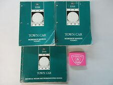 1998 FORD LINCOLN TOWN CAR SERVICE SHOP REPAIR MANUAL SET WITH WIRING DIAGRAMS