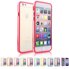 TPU Rubber Frame Ultra Thin Case Cover Bumper For Apple IPhone 6 6s 7 Plus