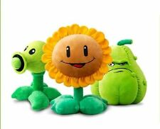 Plants Vs Zombies Series Plush Toy Pea Shooter Sun Flower Soft Stuffed Doll Gift