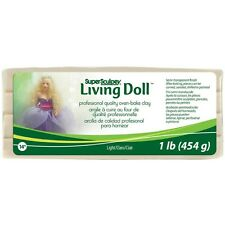 Super Sculpey Living Doll Clay 1lb. Best Price