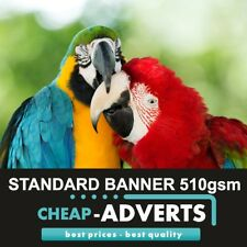 PVC VINYL BANNERS - FREE DESIGN - PRINTED OUTDOOR ADVERTISING SIGN DISPLAY