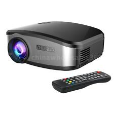 Portable 1200Lumens HD LED LCD Projector 1080P 3D Home Theater USB HDMI VGA TV