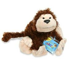 Webkinz Cheeky Monkey RETIRED New Sealed Code SOFT BROWN  CURLY Plush FREE Ship
